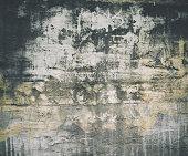 Baige gray dark grunge old wall texture, concrete cement background