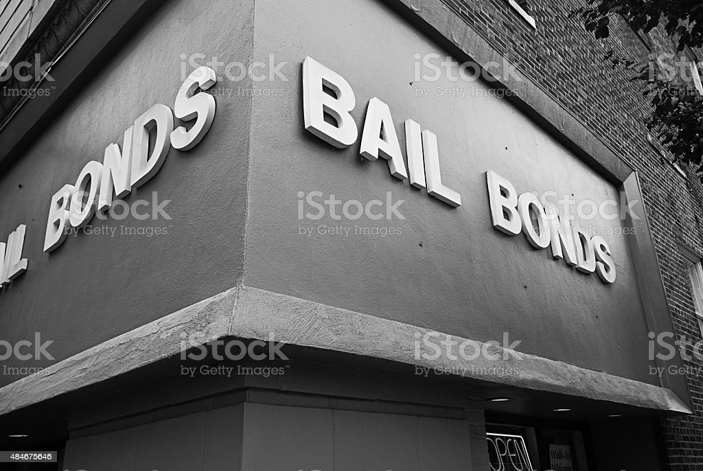 Bail Bond office stock photo