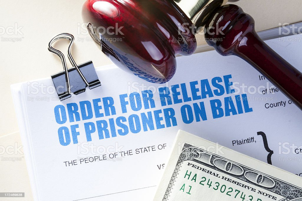 Bail Bond royalty-free stock photo