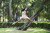Bailarina Ballet Parque