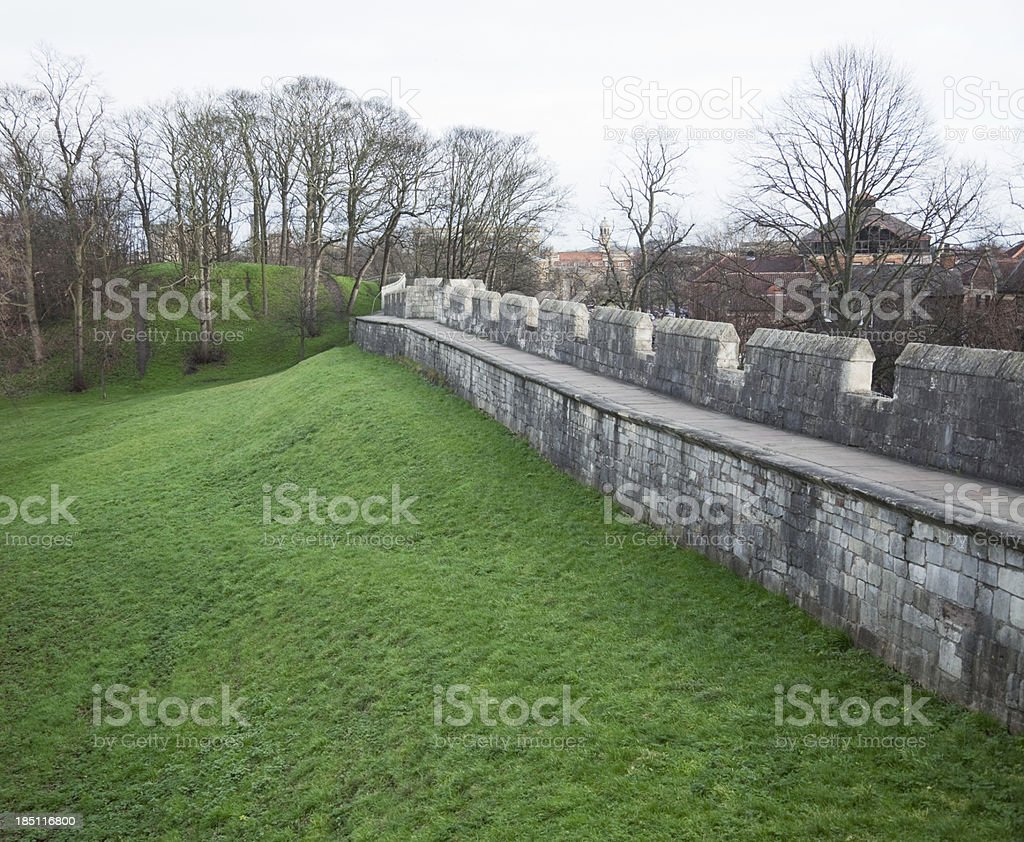 Baile Hill, York, historic site royalty-free stock photo