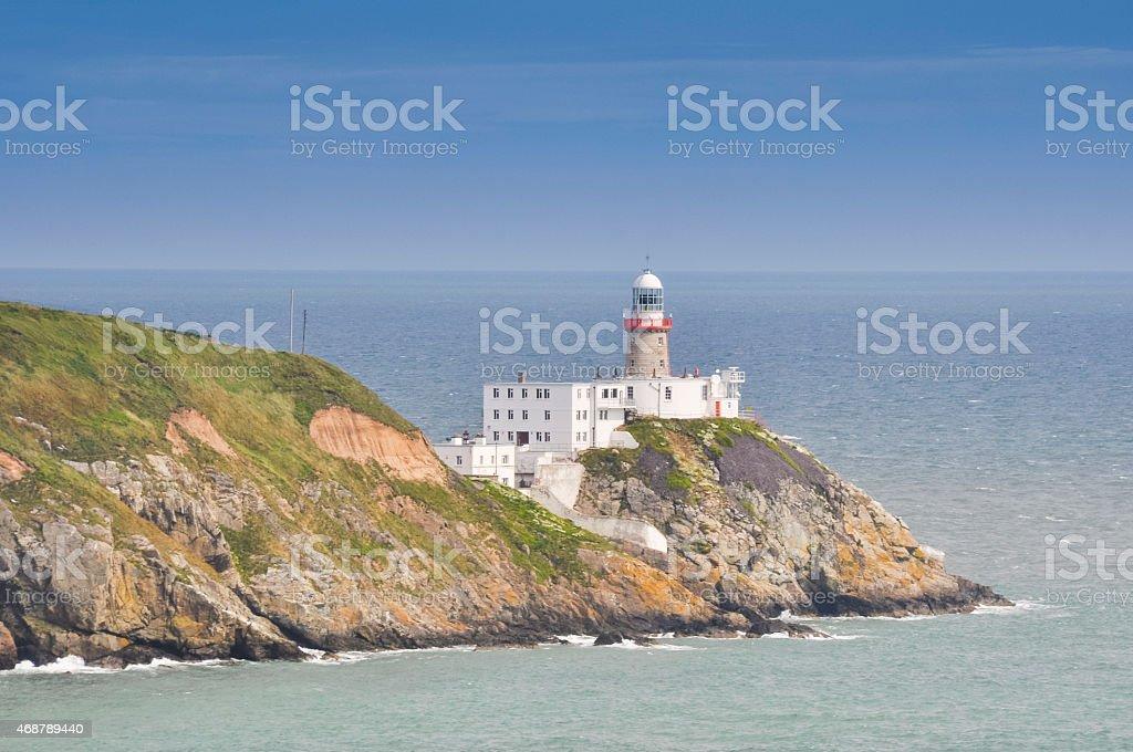 Bailey Lighthouse, Howth, Dublin (Ireland) stock photo