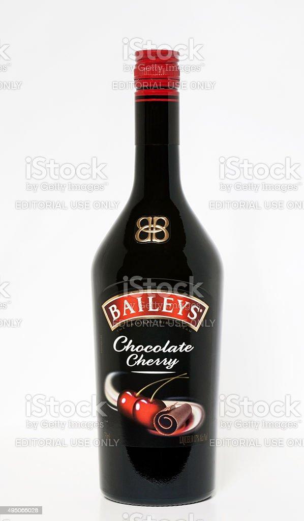 Bailey's Chocolate Cherry Irish Cream stock photo