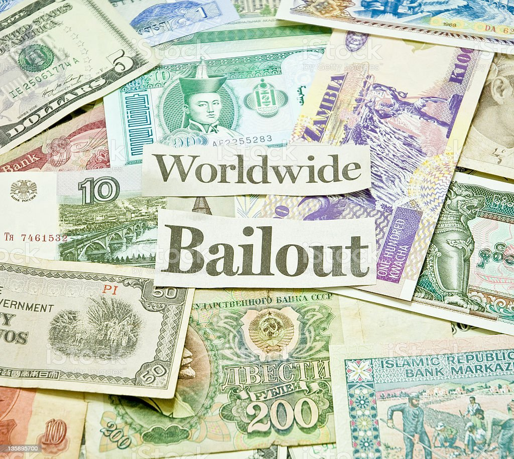 Bailout stock photo