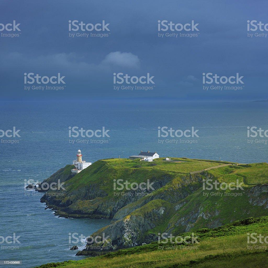 Baily Lighthouse stock photo