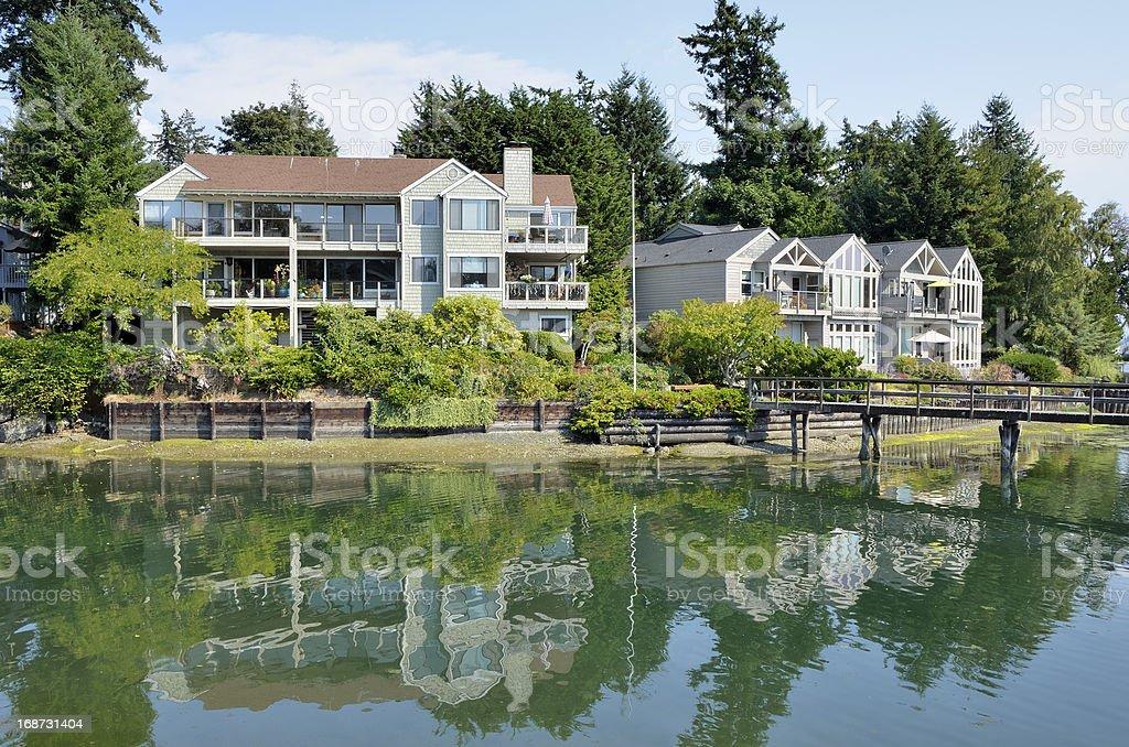 Bainbridge Island, Seattle stock photo