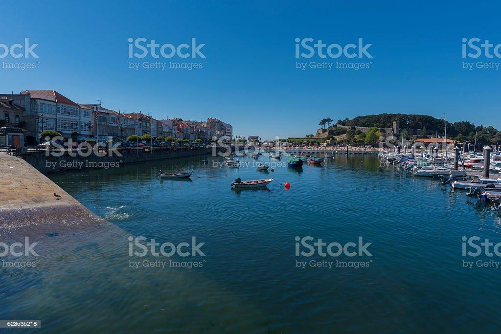Baiona (Pontevedra, Spain). stock photo