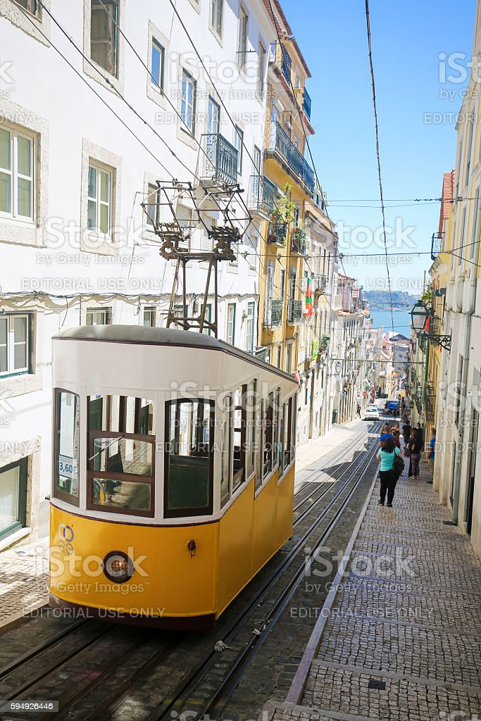 Bairro Alto, Lisbon, Portugal stock photo