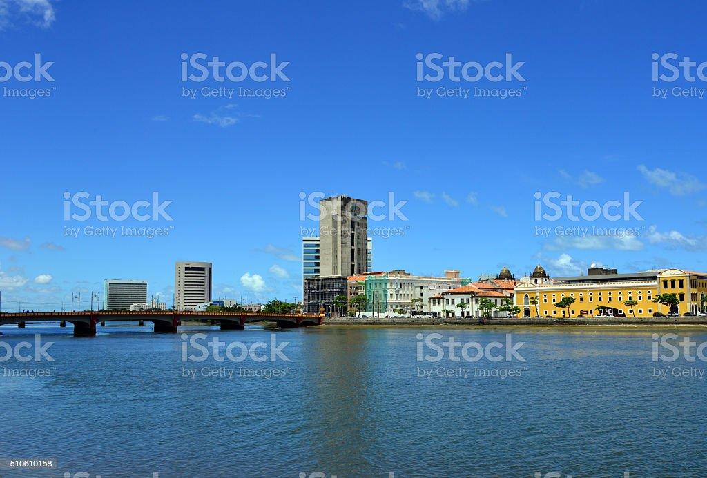 Bairro do Recife, Pernambuco, Brazil stock photo