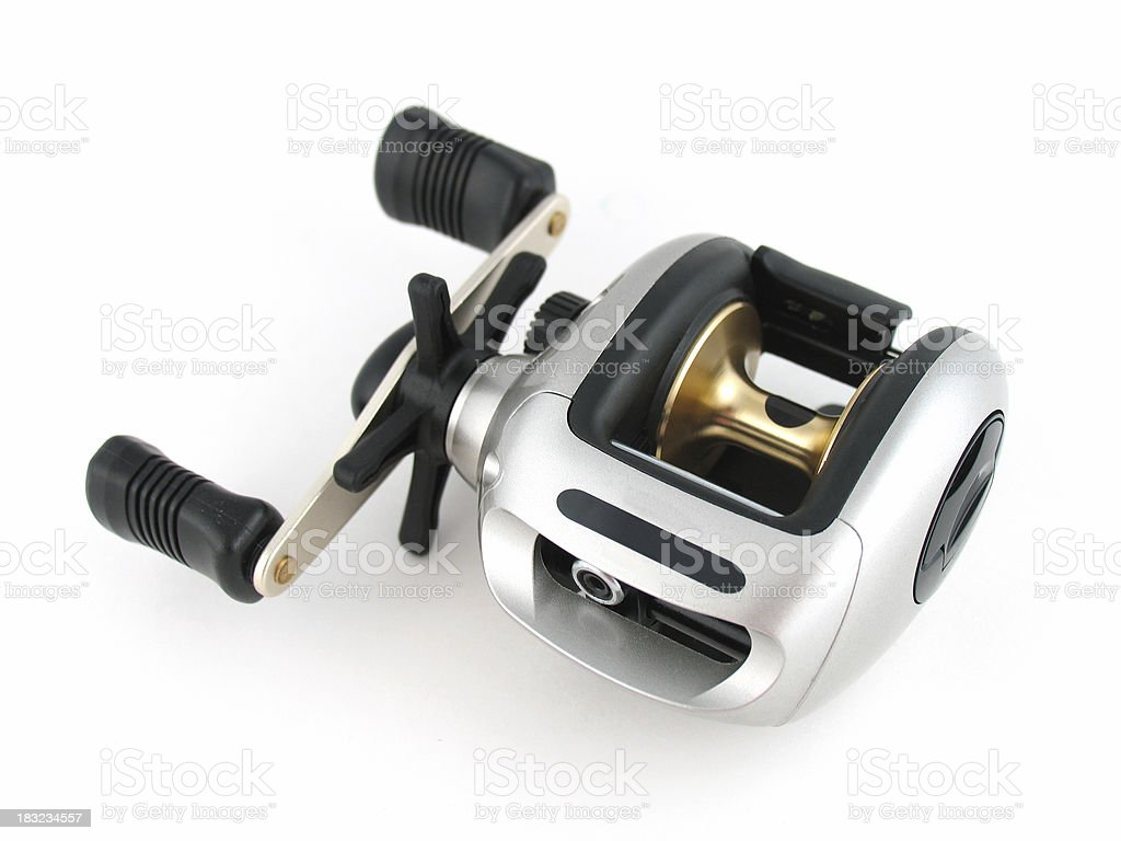 Baitcasting Fishing Reel royalty-free stock photo
