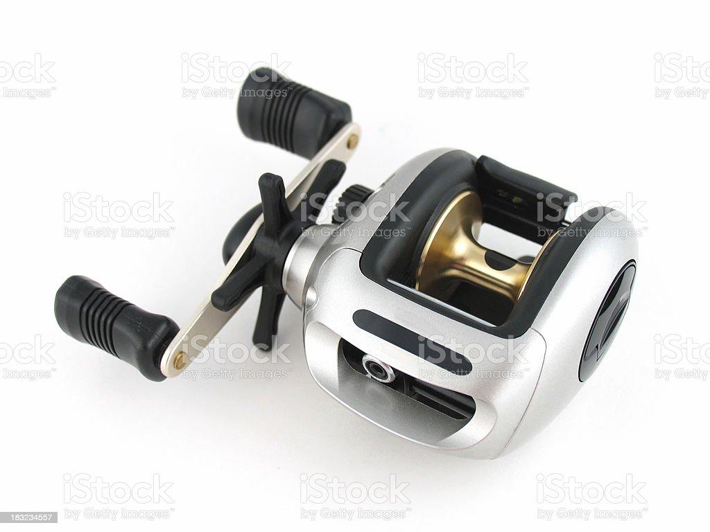 Baitcasting Fishing Reel stock photo