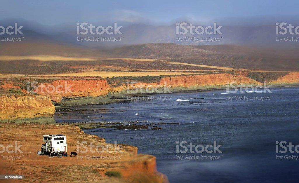 Baja California stock photo
