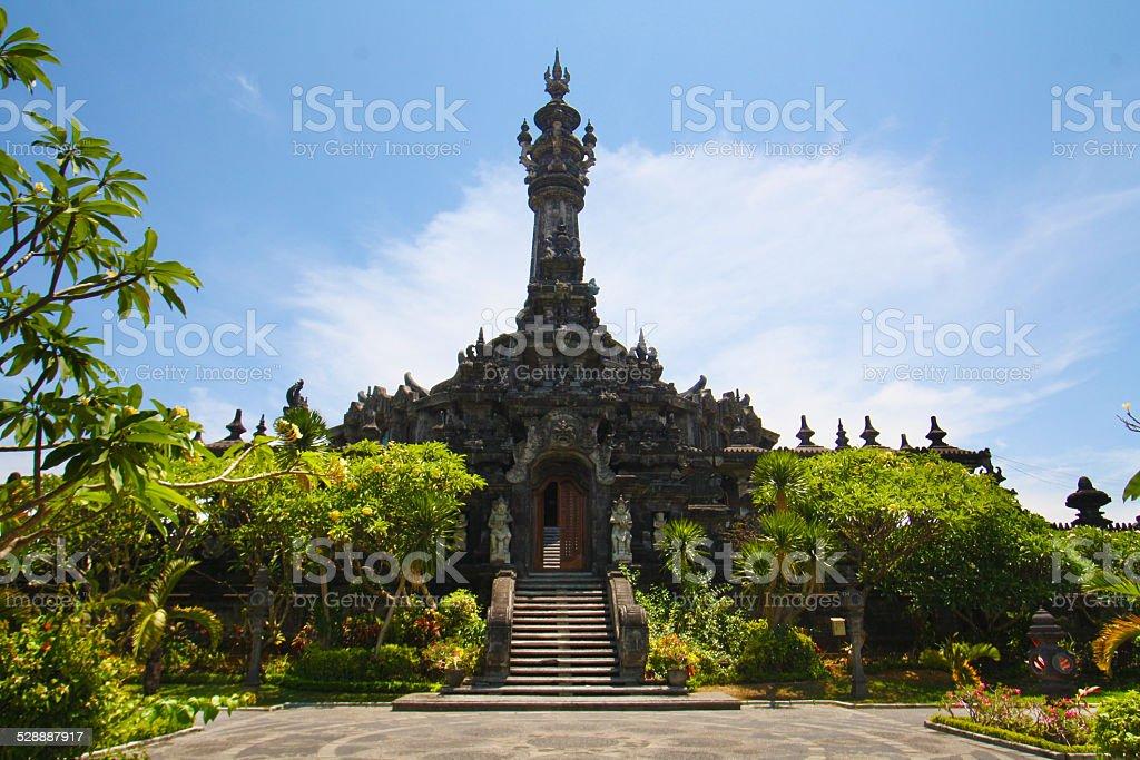 Bajra Sandhi Monument, Denpasar, Bali, Indonesia stock photo