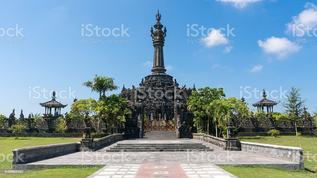 Bajra Sandhi Monument in Denpasar, Bali stock photo