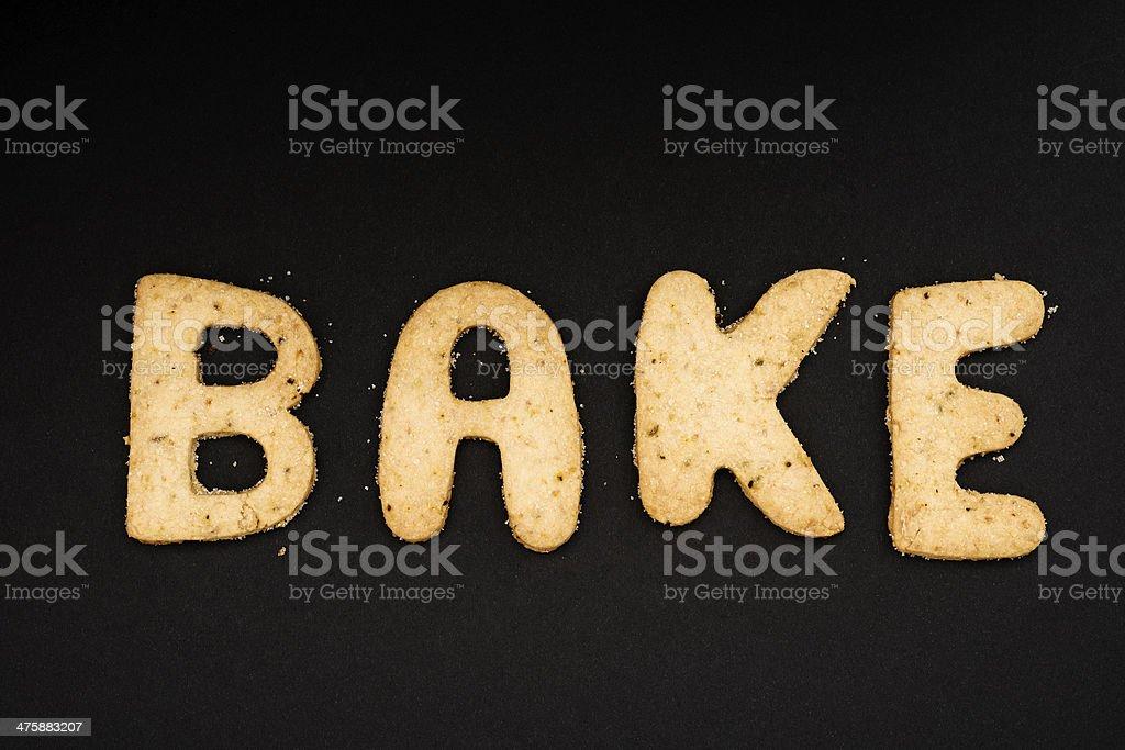 Bake royalty-free stock photo
