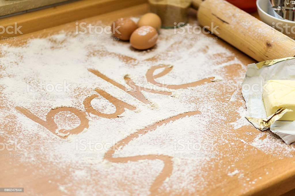 Bake stock photo