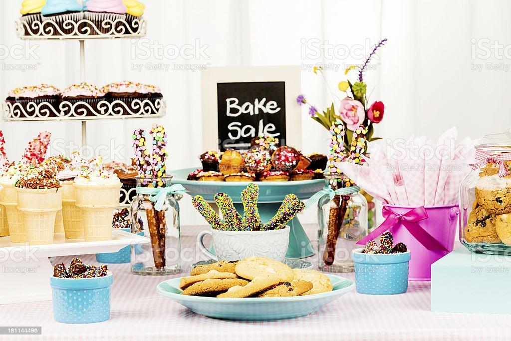 Bake Sale Fundraiser royalty-free stock photo