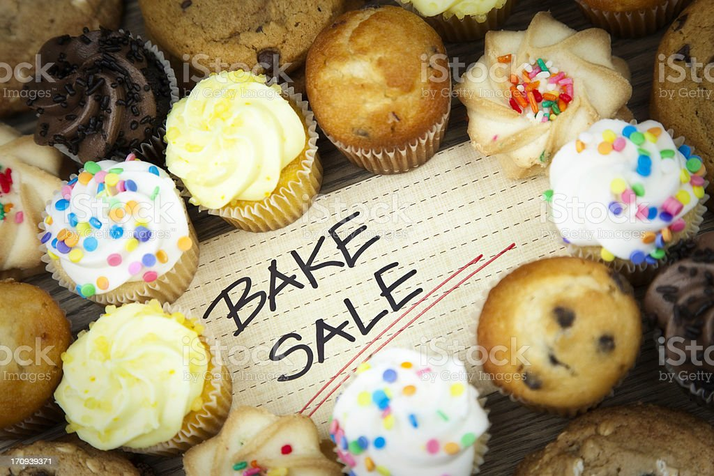 Bake Sale royalty-free stock photo