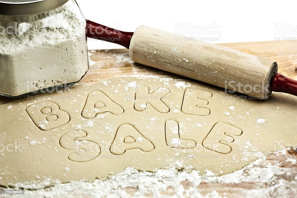 Bake Sale stock photo