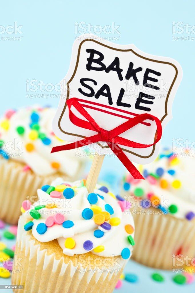 Bake Sale royalty-free stock photo