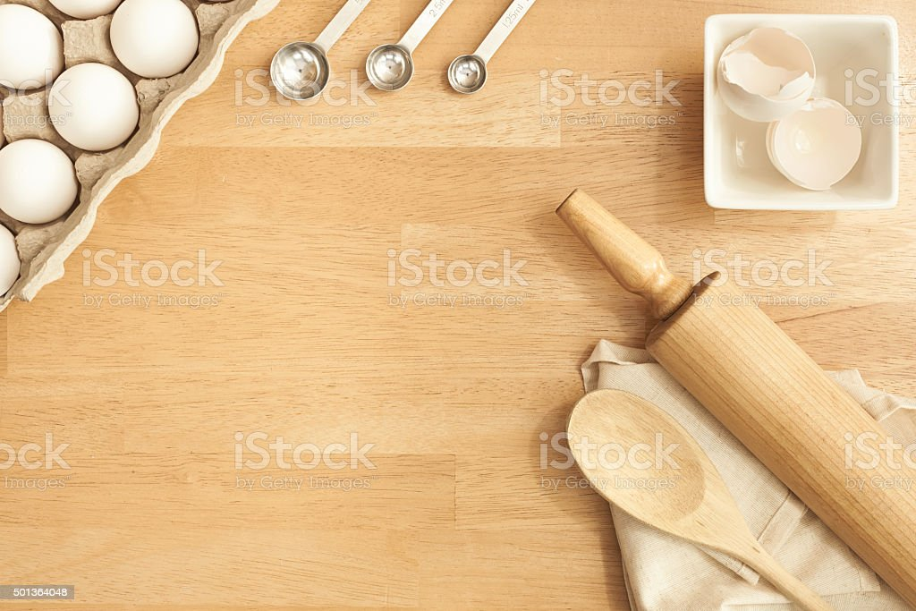 Bake the world a better place stock photo