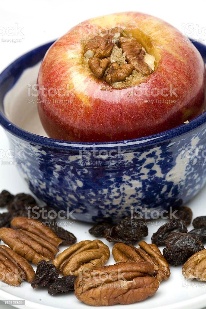Baked Apple royalty-free stock photo