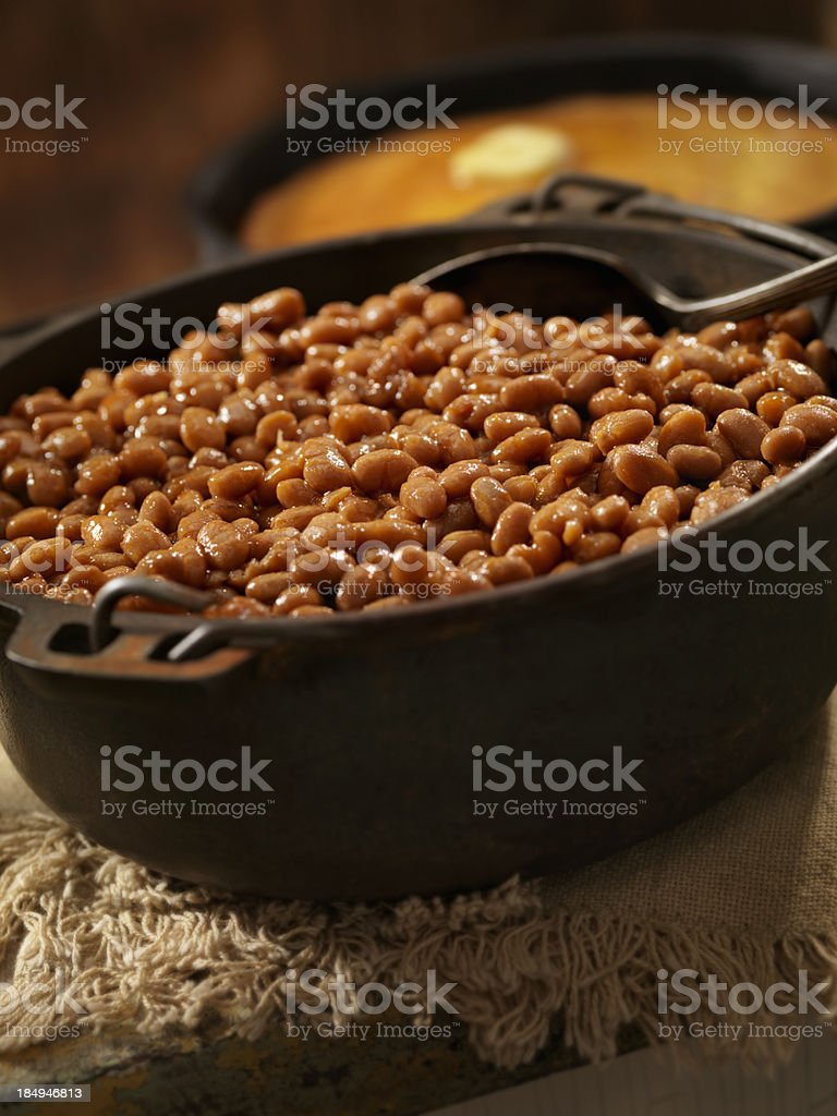 Baked Beans royalty-free stock photo