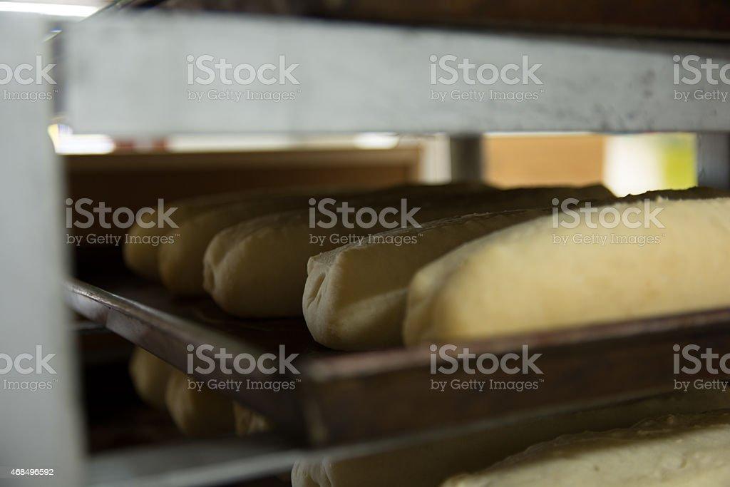 Baked bread royalty-free stock photo