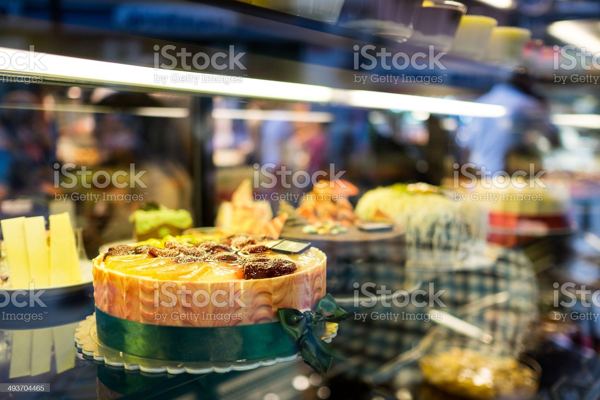 Baked cakes royalty-free stock photo