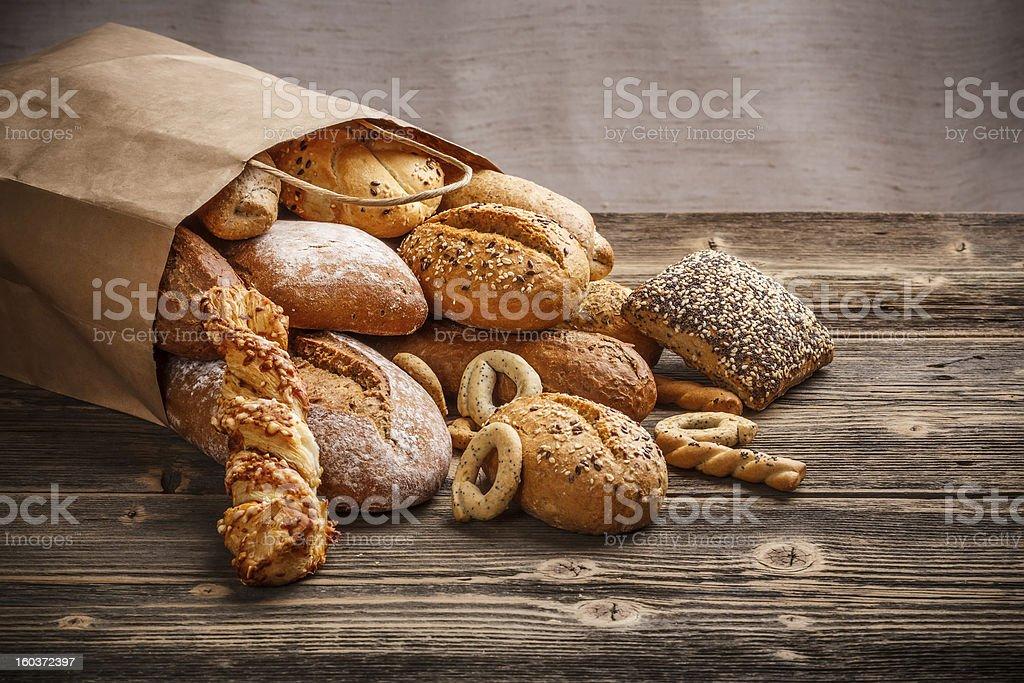 Baked goods stock photo