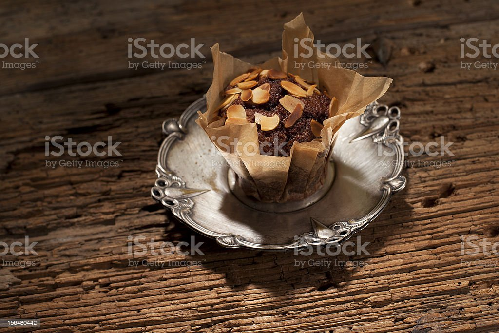 baked muffin royalty-free stock photo