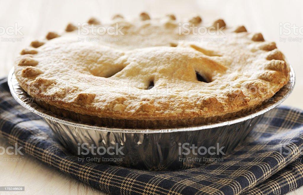 Baked pie stock photo
