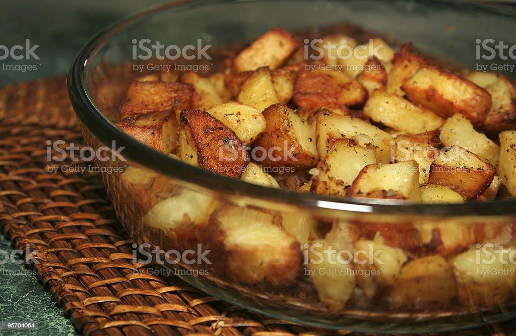 baked potatoes royalty-free stock photo