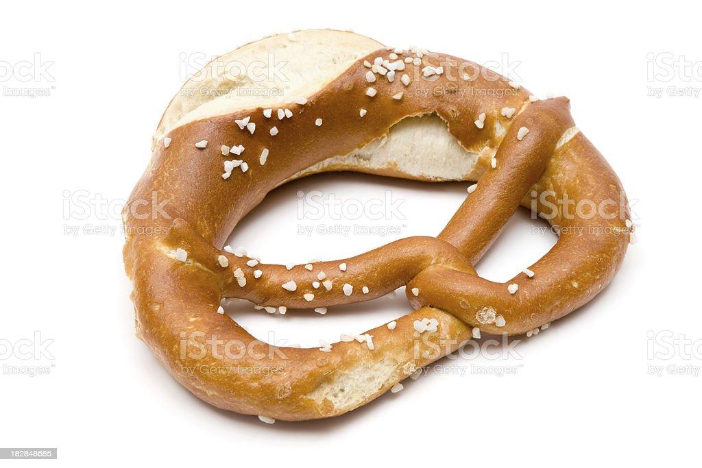 Baked Pretzel stock photo
