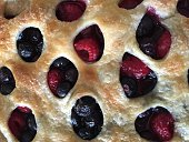 Baked Raspberry and Blackberry Pastry