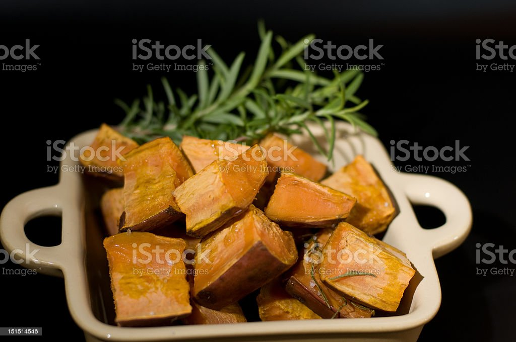 baked red potatoes royalty-free stock photo