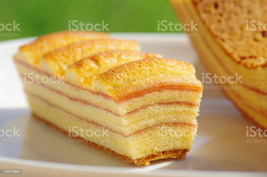 Baked Sweets stock photo
