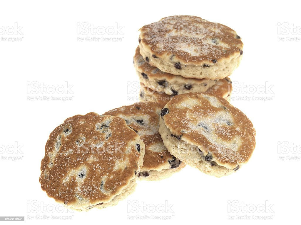 Baked Welsh Cakes stock photo