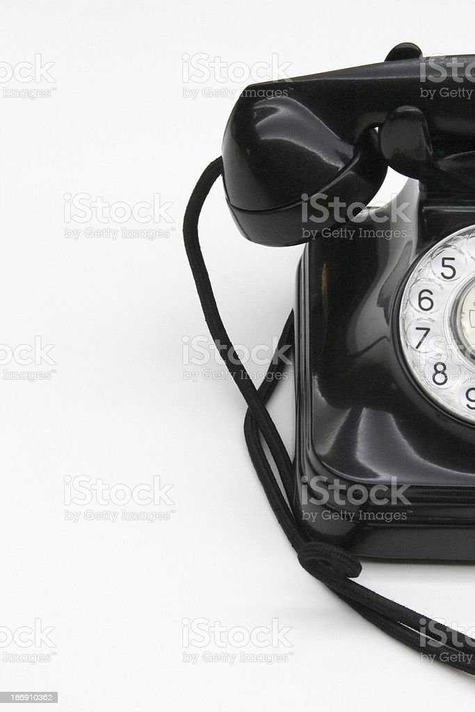 bakelite phone royalty-free stock photo