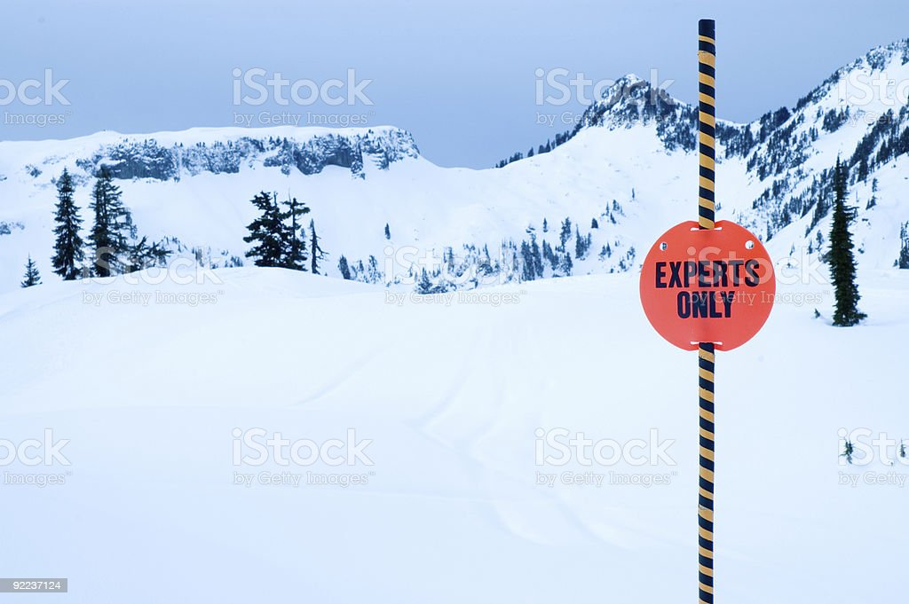Baker - Experts Only royalty-free stock photo