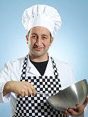 Baker on duty