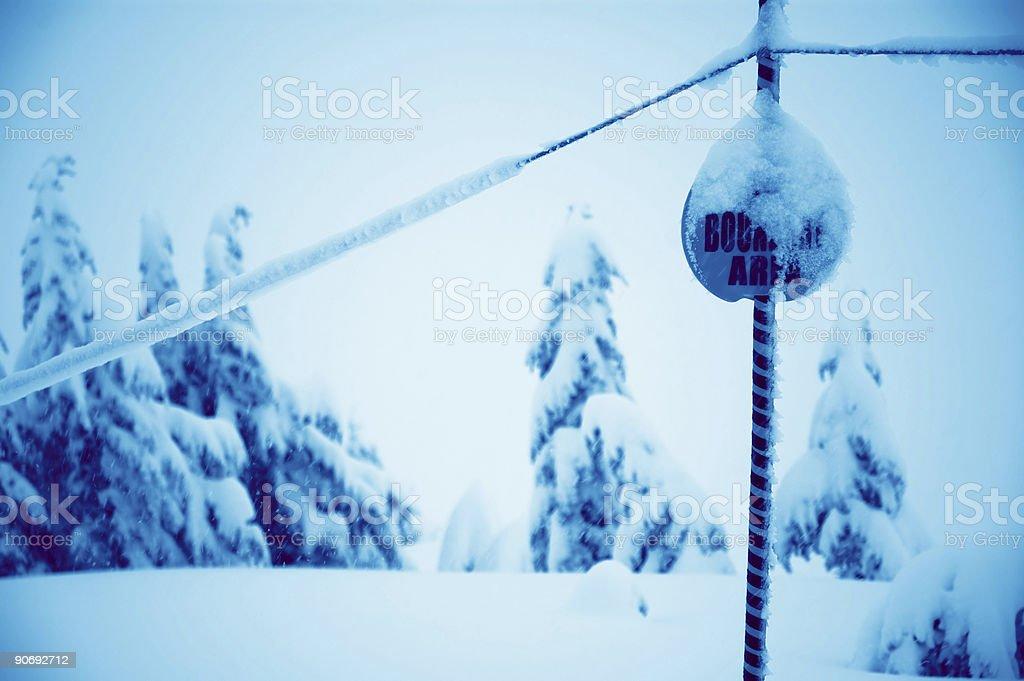 Baker - Snowboarding 10 stock photo