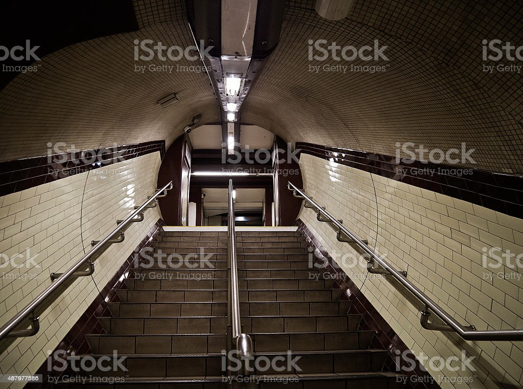 Baker St Tube Station stock photo