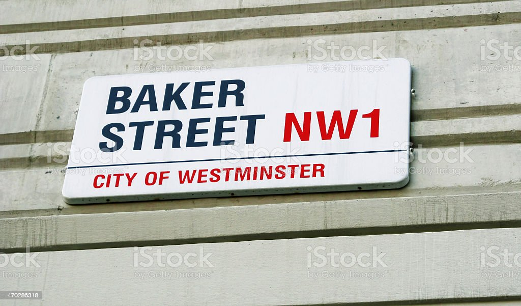 Baker Street stock photo