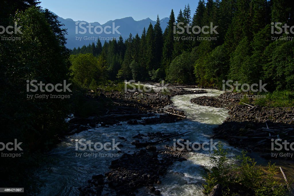 Baker's Boulder Creek stock photo