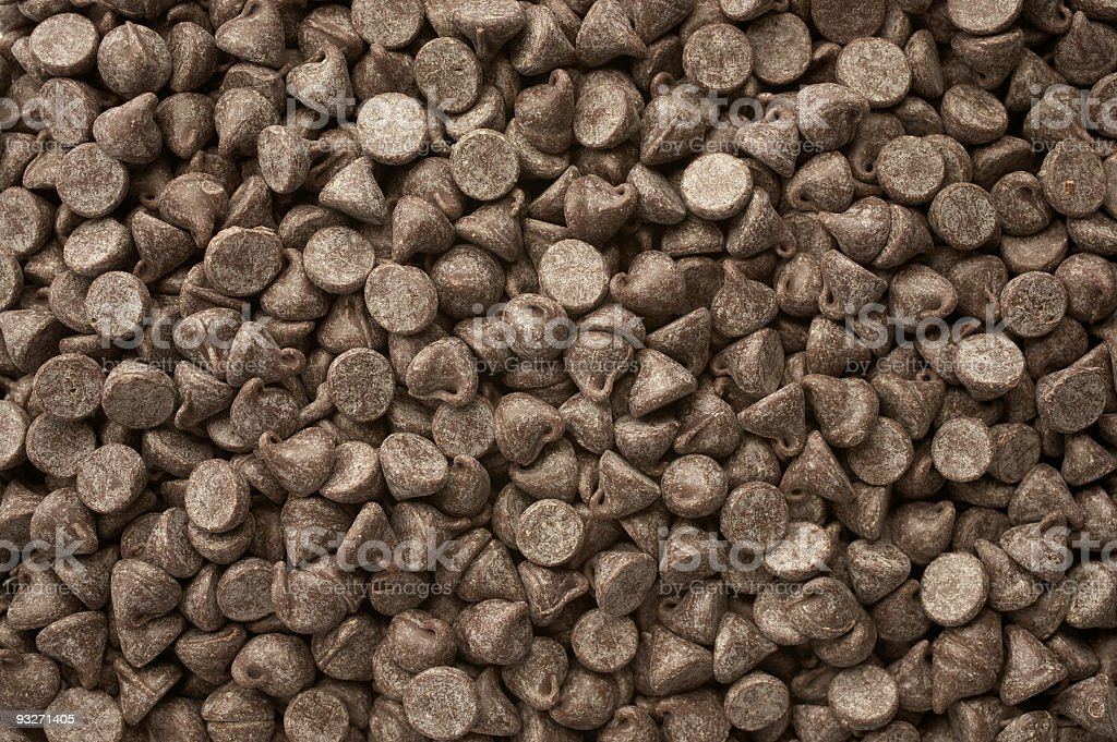 Baker's Chocolate Chips royalty-free stock photo