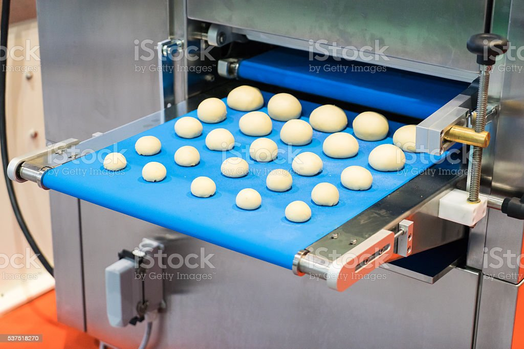 Bakery Bread house manufacturing stock photo