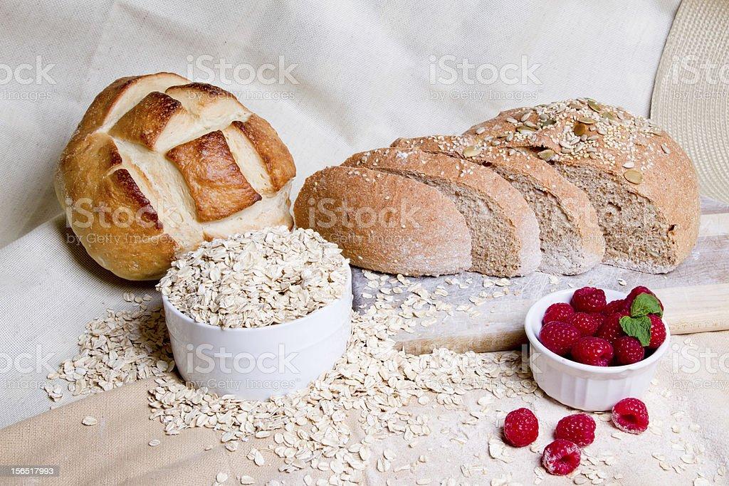 Bakery Breads royalty-free stock photo
