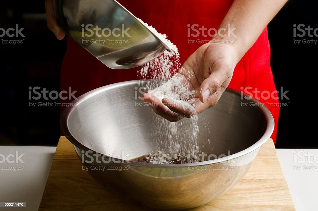Bakery cooking stock photo