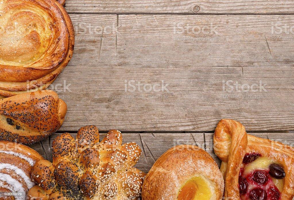 Bakery foodstuffs stock photo